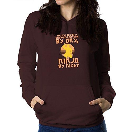 teeburon-autobody-refinisher-by-day-ninja-by-night-womens-hoodie