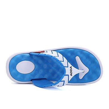Sandalias de verano zapatos de hombre Casual / Exterior / sintética polipiel zapatillas negro / azul / amarillo / verde Blue