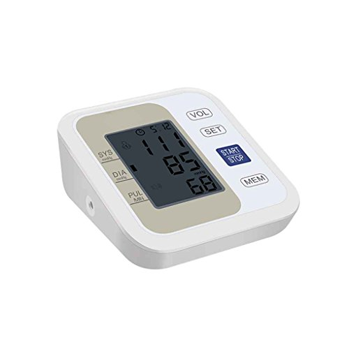 Minzhi Automatic Upper Arm Digital Blood Pressure Monitor Tonometer Meter LCD Display Wrist Heart Beat Rate Pulsometer