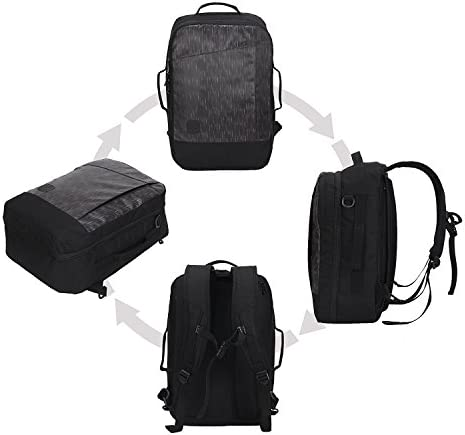 Hynes Eagle 28L Aurora Travel Backpack Flight Approved Carry on Backpack