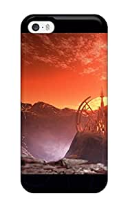 CCVlDaf5194LYFcR Case Cover Protector For Iphone 5/5s A Castle In Mars Case