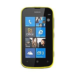 Celly GELSKIN285Y Funda Amarillo funda para teléfono móvil - Fundas para teléfonos móviles (Funda, Nokia, Lumia 510, Amarillo)