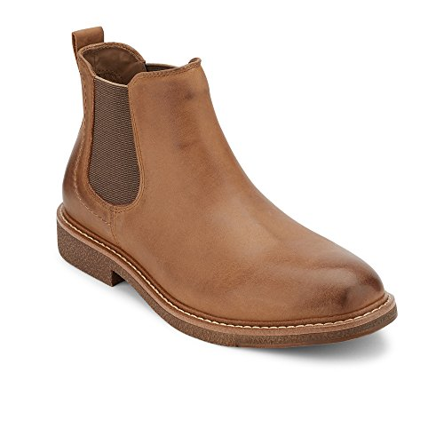 Dockers Men's Stanwell Chelsea Boot, brown-215, 9 M US