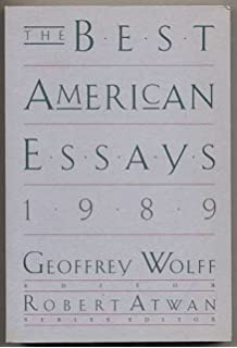 the best american essays annie dillard  the best american essays 1989