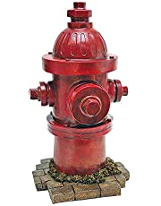 Design Toscano QL5468 Dog's Second Best Friend Fire Hydrant Statue Full Color Realistic Multi-Color