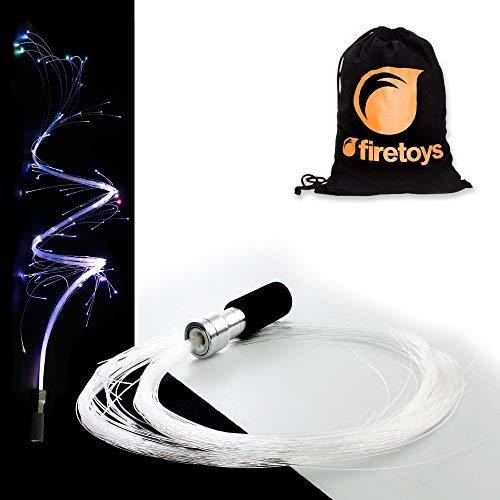 FiberFlies PixelWhip V4! Stunning LED Fibre-Optic Glow Prop + Firetoys Bag! Ideal for Raves, Parties & Festivals! by FiberFlies (Image #1)