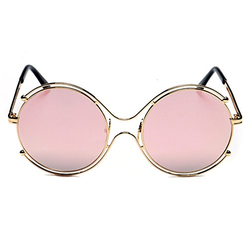 Smiley Face Killer Costume (A-Royal 2016 New Womens Stylish Cute Korean Style Round Sunglasses (C4))