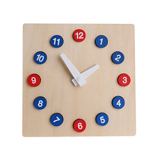 jiheousty Montessori Wooden Stamps Spiel Math Toys Kid Kinder Early Teaching Toys Geschenk