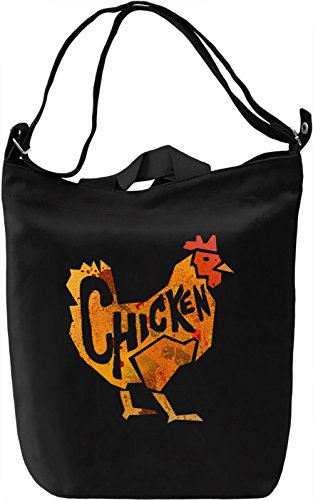 Roseanne Chickens Borsa Giornaliera Canvas Canvas Day Bag| 100% Premium Cotton Canvas| DTG Printing|