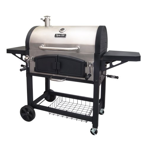 dynaglo dgn576sncd dual zone premium charcoal grill