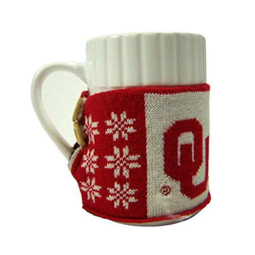 Forever Collectibles Oklahoma Sooners Official NCAA Ugly Sweater Christmas Mug by 103818 by Forever Collectibles