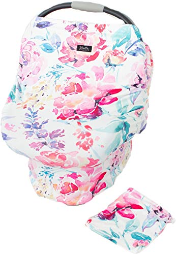 Baby Car Seat Canopy Cover, Breastfeeding Cover, High Chair,