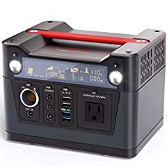 Rockpals 300W Portable Power Station - Charge Your Life! It is a versatile, convenient, large capacity power pack which combines 110V AC inverter, DC 12V and USB ports, designed to run lights, phones, laptops and small appliances in an off-gr...