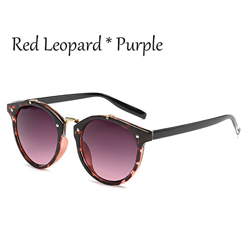 Sol Hombre Tonos Señoras Vintage De De Leopard Leopard Gafas Viaje G360 Red Mal TIANLIANG04 De C6 C1 Sol Moda Gafas Gradiente Mujer Lujo De Gafas Verde TtUfdxw