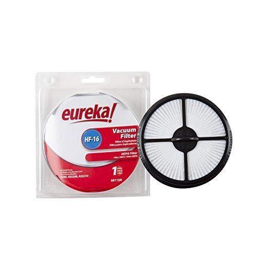 - Genuine Eureka HF-16 HEPA Vacuum Filter 68115A Fits Models 5400 AS5200 AS5210