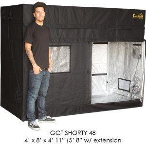 "Price comparison product image 4'x8' Gorilla Grow Tent SHORTY w/ 9"" Extension Kit"
