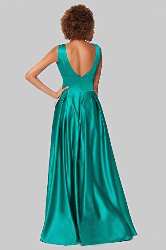 de damas SEXYHER Gorgeous vestido formal Encuadre de de honor de Verdemar noche entero cuerpo EDJ1603 ZY00nqWB