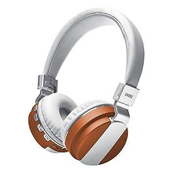 TGSKGZKJDBMD Auriculares Headfone Casque Audio Auriculares Bluetooth Auriculares Grandes Inalámbricos Auriculares inalámbricos para computadora PC Head