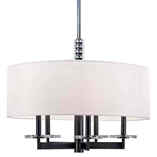 - Hudson Valley Lighting 8824-OB Chelsea 5-Light Chandelier, 24