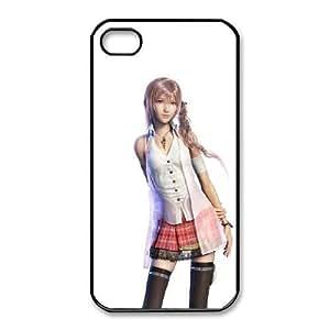 iphone4 4s phone case Black Serah Farron Final Fantasy SOL7450510