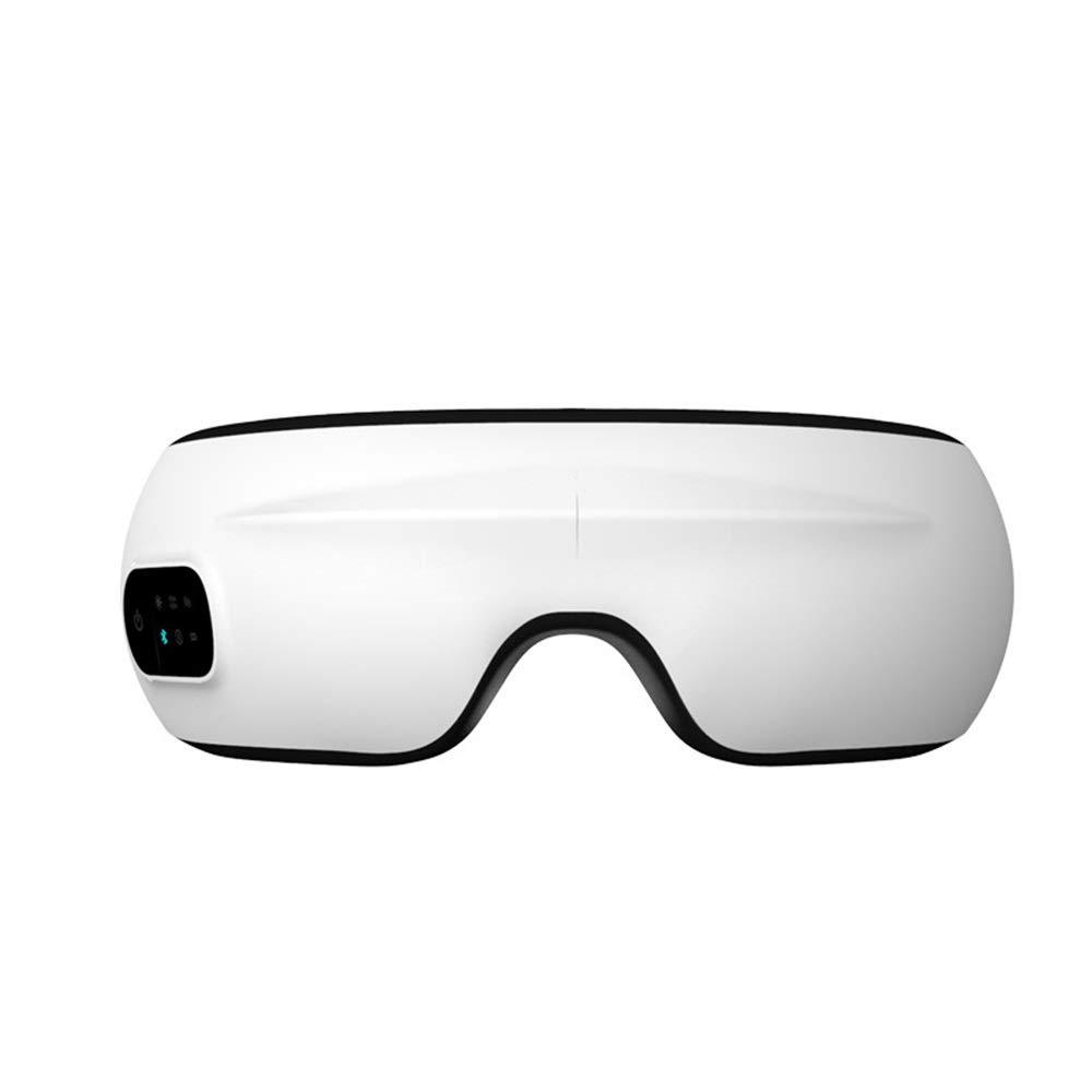 edb3d67b8c Tchin Gafas de Masaje inalámbrico Bluetooth Carga Caliente compresa  Caliente máscara de Ojo clásico Instrumento de Masaje Plegable: Amazon.es:  Hogar