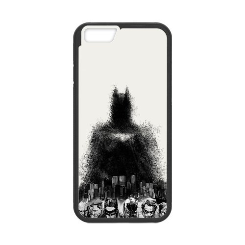 "Fayruz - iPhone 6 Rubber Cases, Batman Hard Phone Cover for iPhone 6 4.7"" F-i5G281"