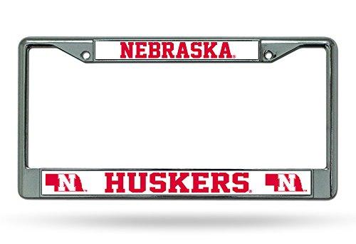 (NCAA Nebraska Cornhuskers Chrome Plate Frame)