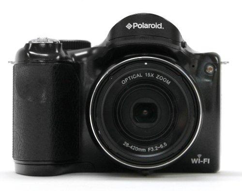 Polaroid IS1527W-BLK-BEALLS 16 Digital Camera with 3-Inch LCD (Black)