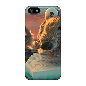 First-class Case Cover For Iphone 5/5s Dual Protection Cover Ice Age Continental Drift 2