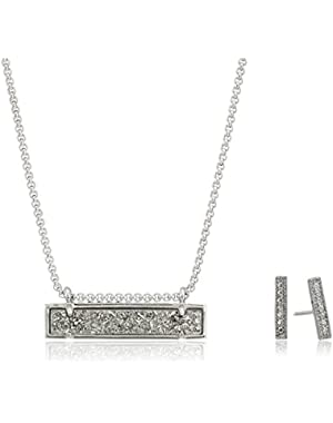 Jon & Leanor Drusy Necklace and Earrings Gift Set