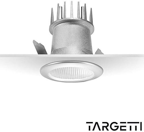 targetti Foco empotrable Quick LED 10 W 3000 K luz cálida 1t2420: Amazon.es: Iluminación