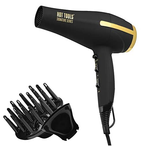 HOT TOOLS Signature Series Ionic 1875w Turbo Ceramic Salon Hair Dryer - 41Q7BH46dUL - HOT TOOLS Signature Series Ionic 1875W Turbo Ceramic Salon Hair Dryer