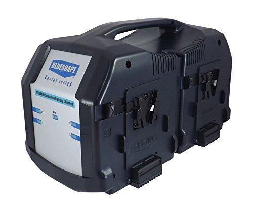 BLUESHAPE電源供給13.8 V +バッテリ充電器Vlock for 4電池   B00BJ5448E
