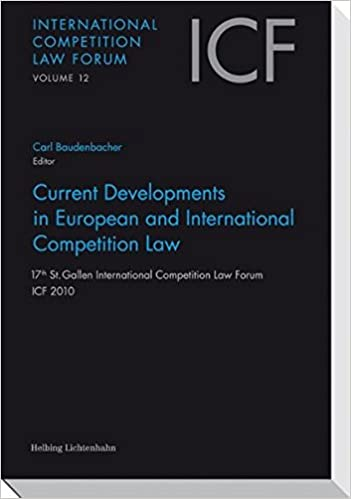 Book Current Developments in European and International Competition Law