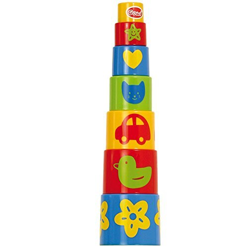 Gowi Toys Pyramid Stacker - 7 Parts