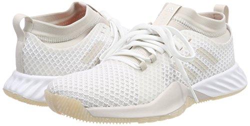 chalk res hi Pro Crazytrain 0 Orange Chaussures footwear Blanc Pearl Fitness Femme 3 De Adidas White gSPBfUnn
