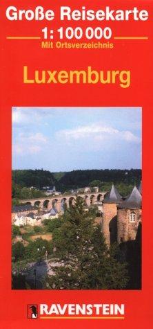 Luxemburg: 1:100000 (Ravenstein International Maps) (Englisch) Landkarte – Folded Map, Illustriert RM MAIRDUMONT 3876608481 Karten / Stadtpläne / Europa