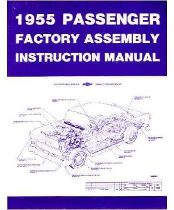 amazon com 1955 chevrolet assembly manual book rebuild automotive rh amazon com 1955 chevy truck assembly manual 1955 chevrolet truck shop manual 2nd series