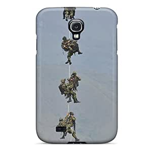 GeorgeLife Scratch-free Phone Case For Galaxy S4- Retail Packaging - Colombia Army
