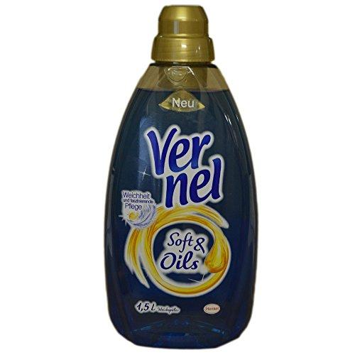 Vernel Soft & Oils Weichspüler Blau (1,5 Liter Flasche)