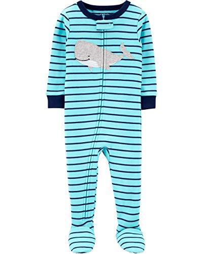 Carter's Boys' 1-Piece Footed Pajamas (2t, -