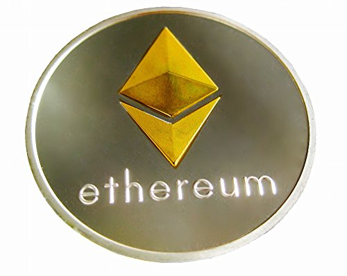 Ethereum Coin Gold Amp Silver Plated Cryptocurrencies You