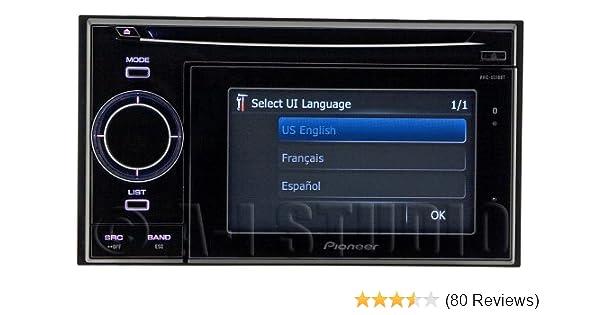 Verwonderlijk Amazon.com: Pioneer AVIC-U310BT 4.3-Inch In-Dash Navigation EB-75