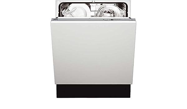 Zanussi Dishwasher ZDT 110 lavavajilla Totalmente integrado 12 ...