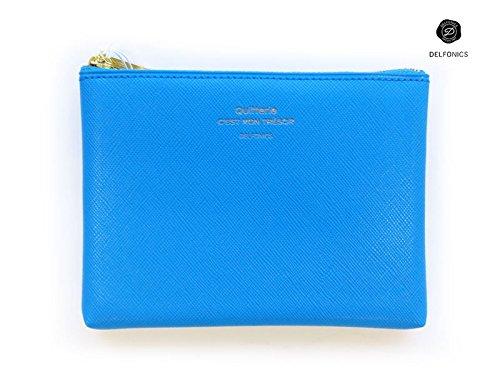 [DELFONICS] Quitterie Pouch Size S 500229 Sky Blue