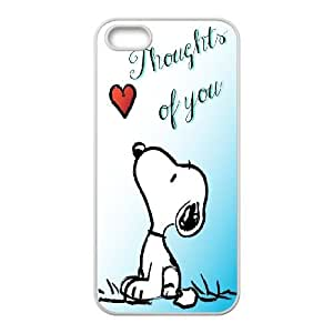 Snoopy Green Iphone 4 4S Cell Phone Case White 11B197884