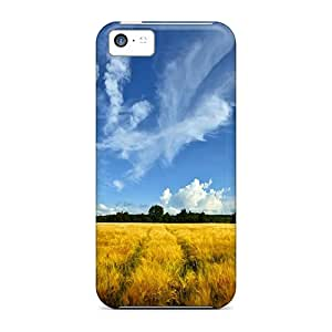 MNg7458cxOC Tpu Case Skin Protector For Iphone 5c Nature Fields Golden Field With Nice Appearance