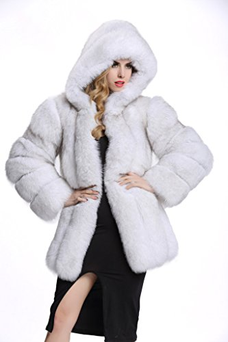 Natural Fox Fur Jacket - 5