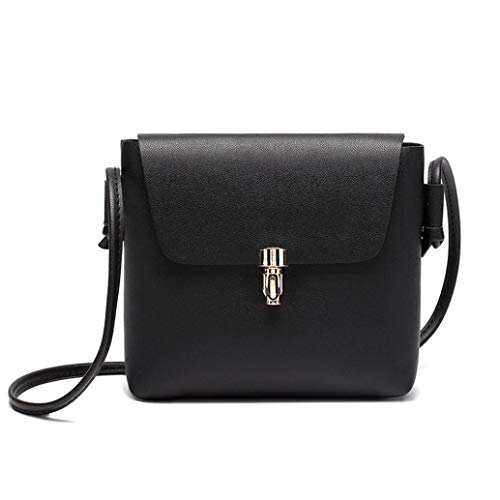 Coin Bag Bag Hasp Women Black Black Cover Phone Crossbody Bag Fashion Kanpola Messenger zqFnv44x