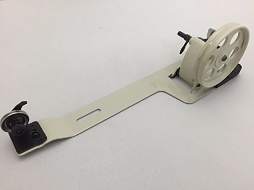 White Large Bobbin Winder for Industrial Sewing - Singer Lockstitch